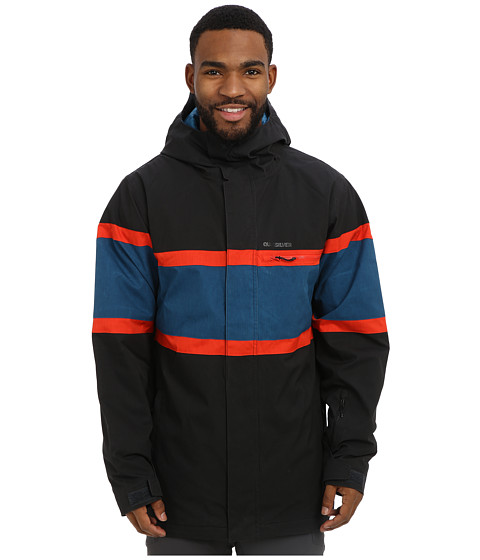 Quiksilver - Fraction Jacket (Fiery Red) Men's Coat