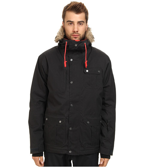 Quiksilver - Storm Jacket (Caviar) Men's Coat