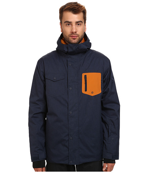 Quiksilver - Versus Jacket (Sudan Brown) Men's Coat