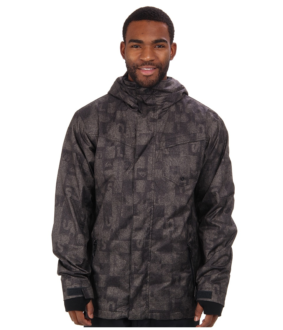 Quiksilver - Mission 3N1 10K Jacket (Winter Moss Plaid) Men's Coat