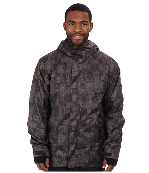 Quiksilver - Mission 3N1 10K Jacket (Winter Moss Plaid) Men