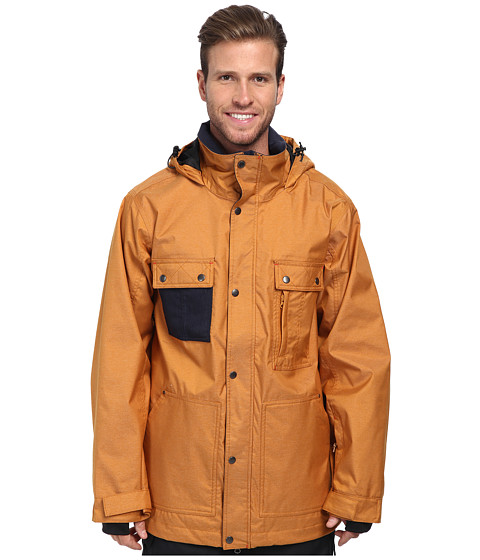 Quiksilver - No Nonsense Jacket (Sudan Brown) Men's Coat