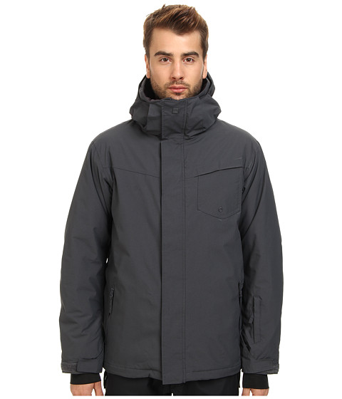 Quiksilver - Mission Solid Jacket (Asphalt) Men's Coat