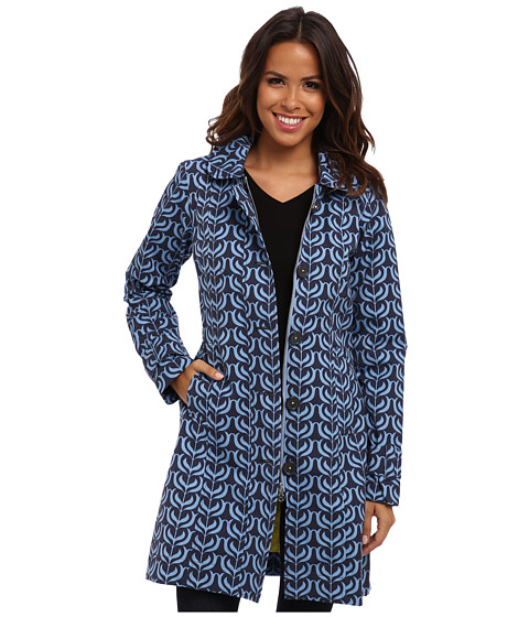 Hatley - Classic Rain Jacket (Indian Floral Blocks) Women's Coat