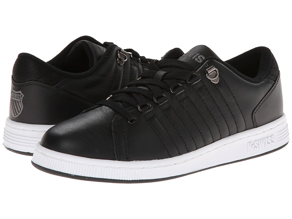 K-Swiss - Lozan III (Black/White Leather) Women's Tennis Shoes
