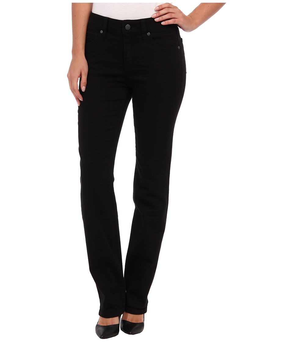 Miraclebody Jeans - Katie Straight Leg in Jet Black (Jet Black) Women's Jeans