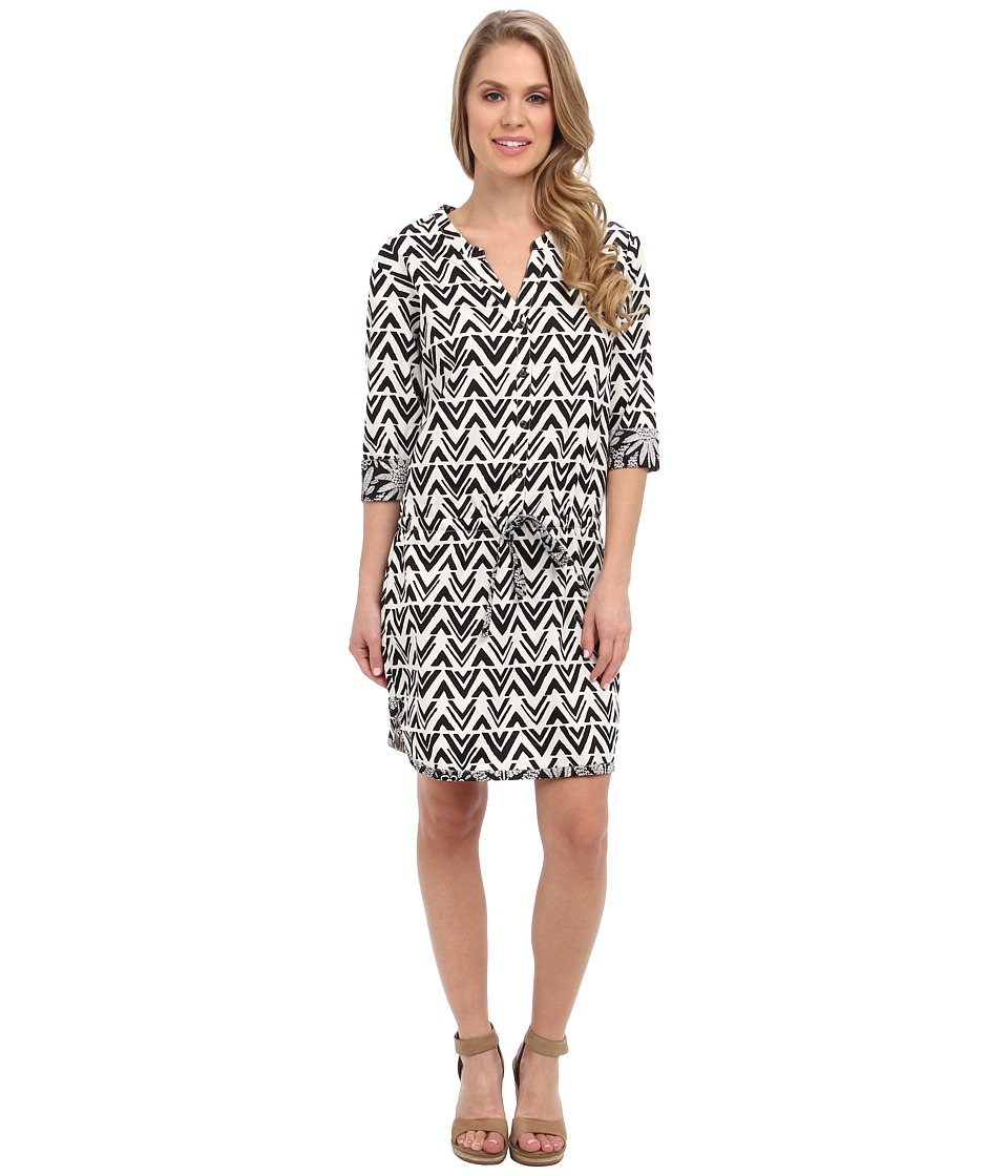 Hatley - Tunic Dress (Blocked Chevron) Women