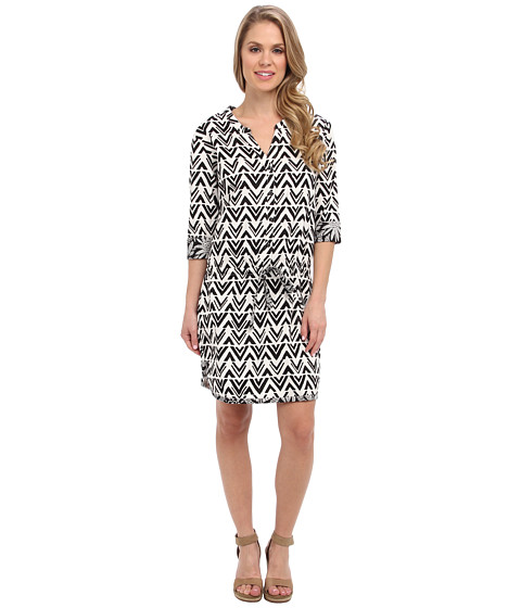 Hatley - Tunic Dress (Blocked Chevron) Women