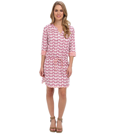 Hatley - Tunic Dress (Indian Floral Blocks Pink) Women's Dress