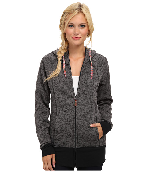 Roxy - Hideaway Fleece (Anthracite) Women's Sweatshirt