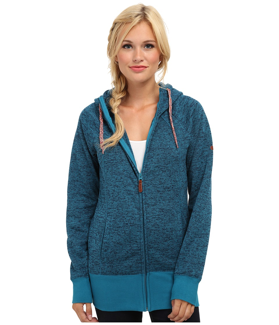 Roxy - Hideaway Fleece (Oriental Blue) Women's Sweatshirt