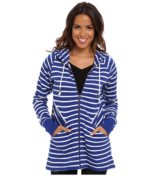 Hatley - Weekend Hoodie (Blue Crush Stripes) Women
