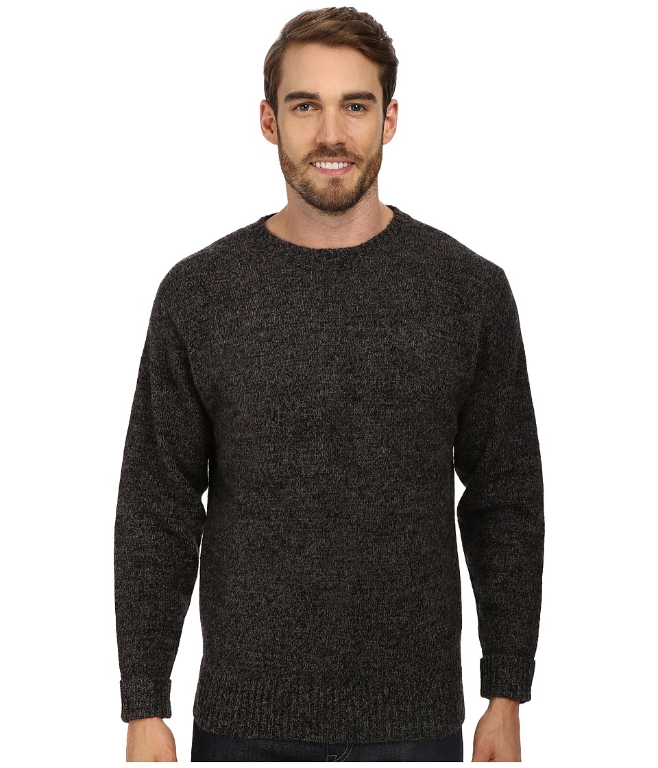 Pendleton - Shetland Crew Sweater (Charcoal Mix) Men