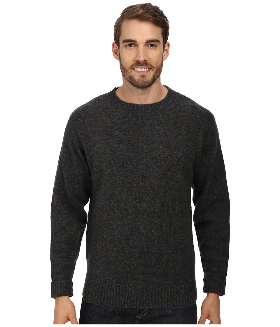 Pendleton - Shetland Crew Sweater (Blue/Green Mix) Men's Sweater