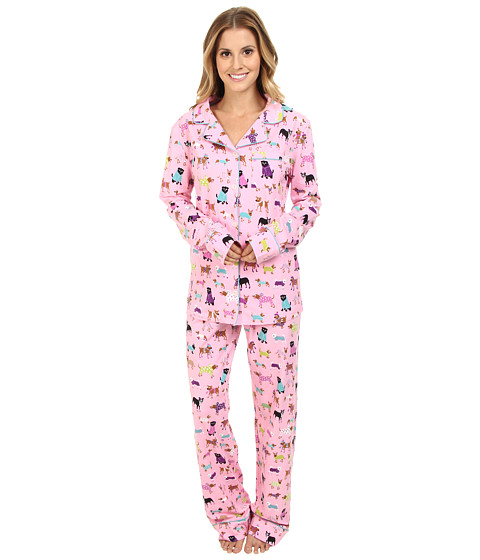 Hatley - 2 Piece PJ Set (Pink) Women