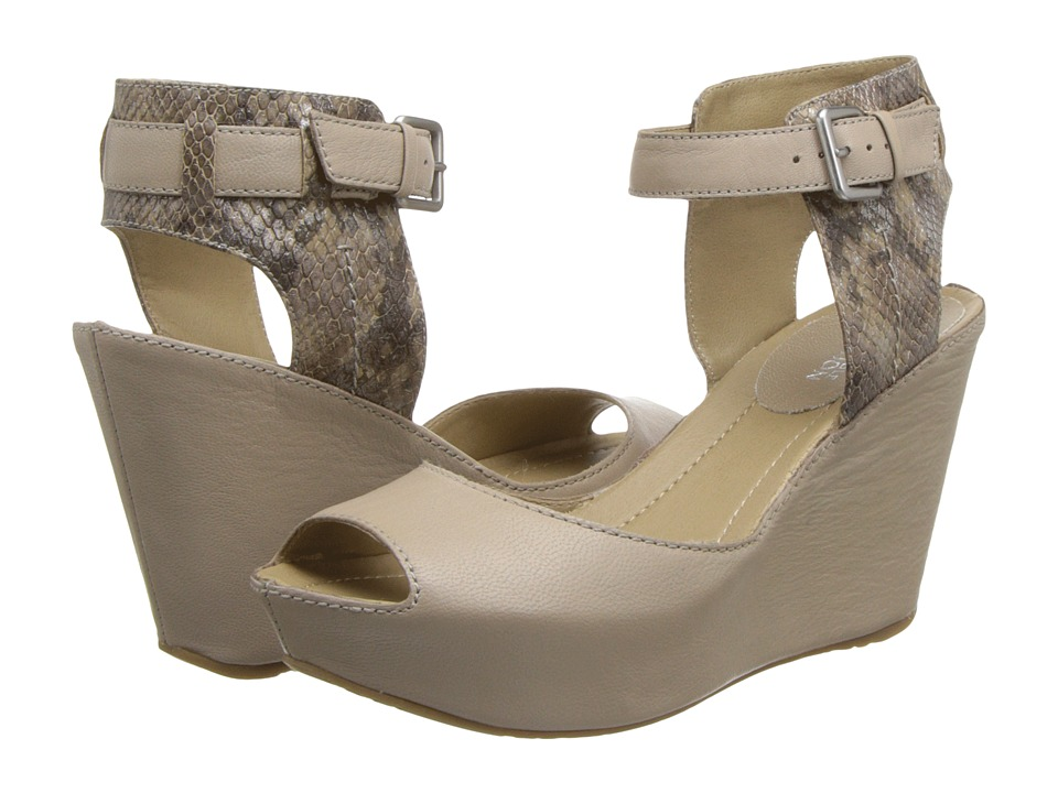 Kenneth Cole Reaction - Sole My Heart (Taupe) Women's Wedge Shoes