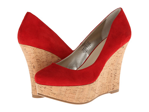 Matisse Pammy (Red Micro) Women's Wedge Shoes