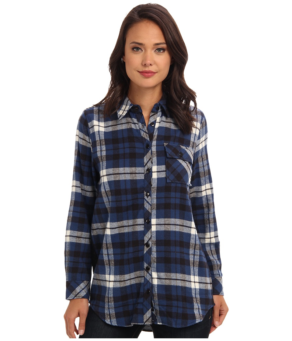 Tolani - Emma Top (Blue) Women's Clothing