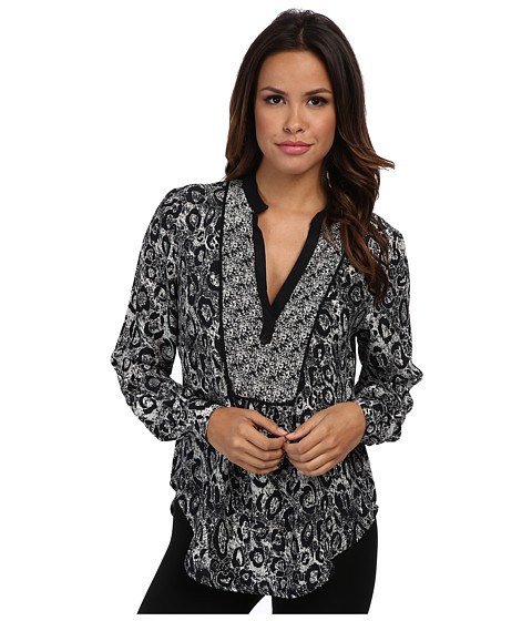Tolani - Beth Top (Leopard) Women's Clothing