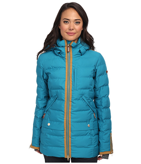Roxy - Torah Bright Influencer Jacket (Oriental Blue) Women