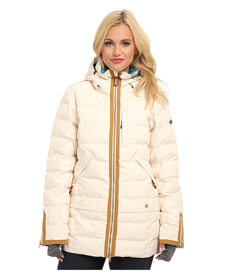 Roxy - Torah Bright Influencer Jacket (Angora) Women
