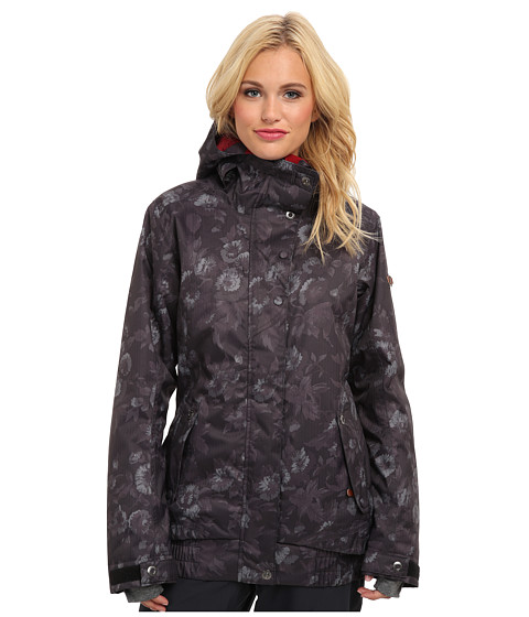 Roxy - Juno Jacket (Anthracite Pattern) Women's Coat