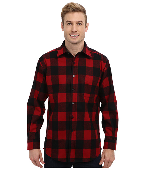 Pendleton - L/S Lodge Shirt (Rob Roy Red Plaid) Men's Long Sleeve Button Up