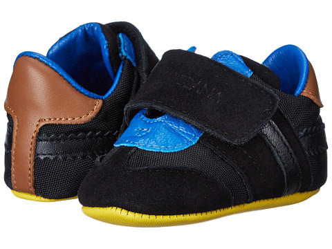 Dolce & Gabbana - Velcro Sneaker (Infant/Toddler) (Black) Men's Shoes