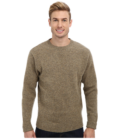 Pendleton - Shetland Crew Sweater (Birch) Men