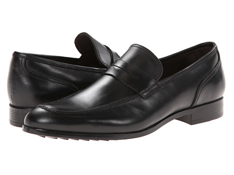Fitzwell - Dollar (Black) Men's Dress Flat Shoes