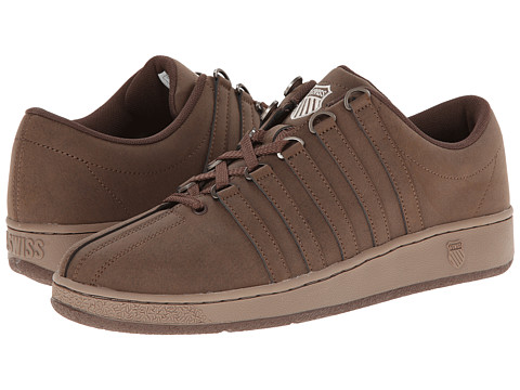 K-Swiss - Classic Luxury Edition (Chocolate/Taupe Gray) Men