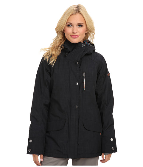 Roxy - Andie Jacket (Anthracite) Women's Coat