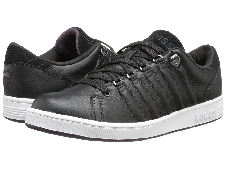 K-Swiss - Lozan III (Jet Black/White/Plum Perfect) Men