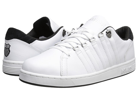 K-Swiss - Lozan III (White/Jet Black) Men's Shoes