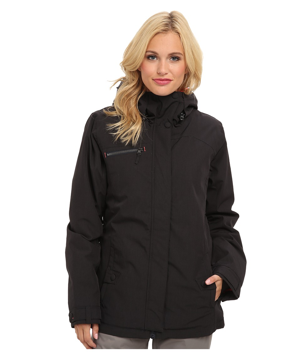 Roxy - Band Camp Jacket (Anthracite) Women's Coat
