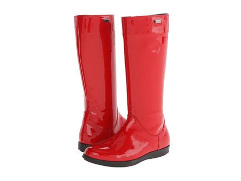 Dolce & Gabbana - Tall Rubber Boot (Big Kid) (Red) Women