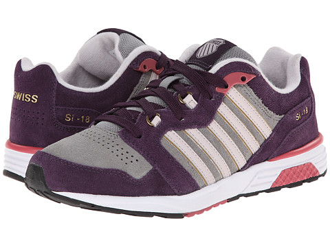K-Swiss - SI-18 Rannell 2 P (Stingray/Plum Perfect/Hushed Violet) Women