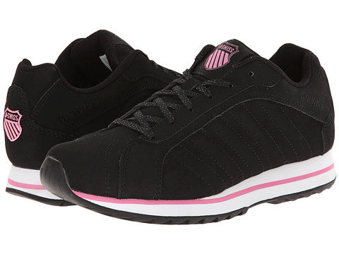 K-Swiss - Verstad III S (Black/Sachet Pink) Women's Shoes
