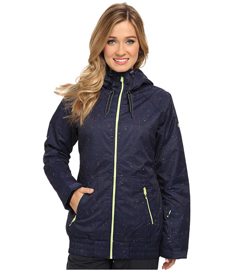 Roxy - Valley Hoodie (Peacoat) Women's Sweatshirt