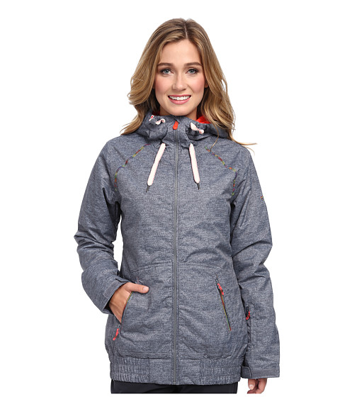 Roxy - Valley Hoodie (Castlerock Stripe) Women