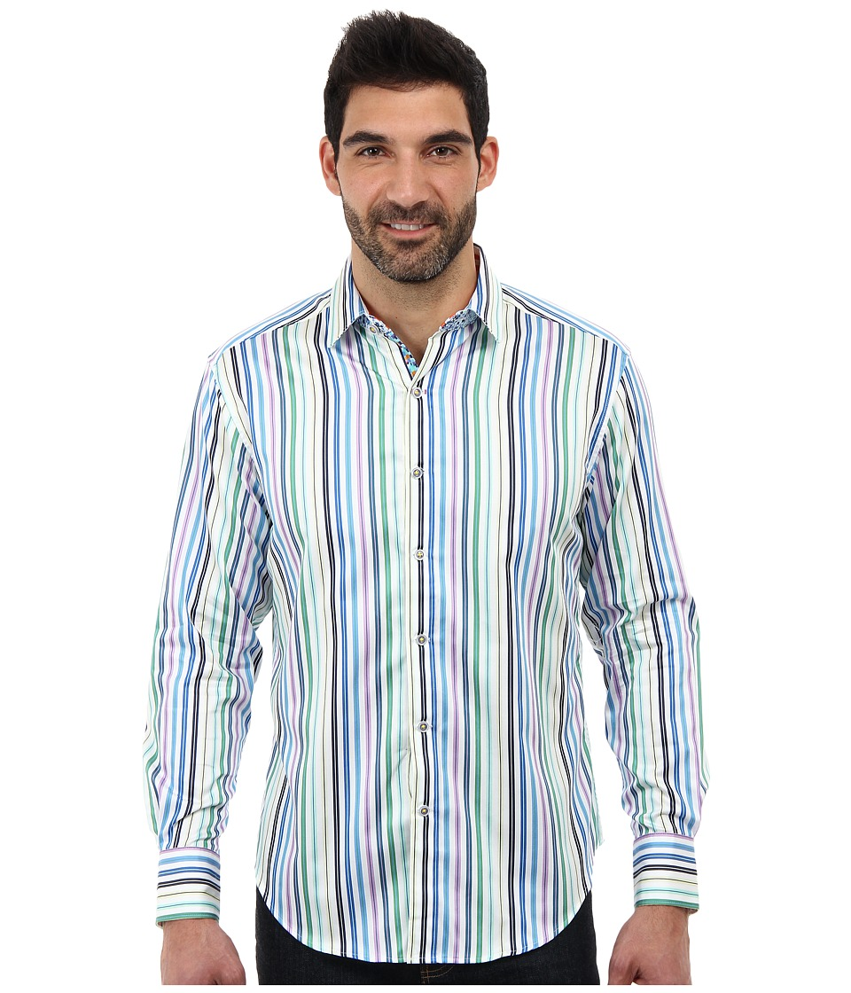 Robert Graham - Mirto L/S Woven Shirt (Multi) Men's Long Sleeve Button Up