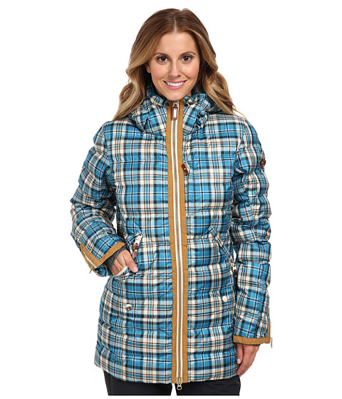 Roxy - Torah Bright Influencer Jacket (Oriental Blue) Women's Coat