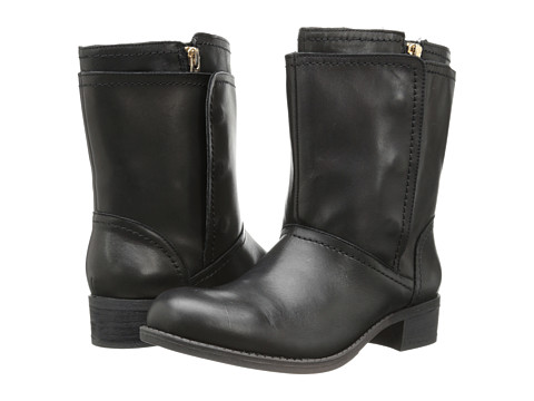 BCBGeneration - Everest (Black Silky Leather) Women