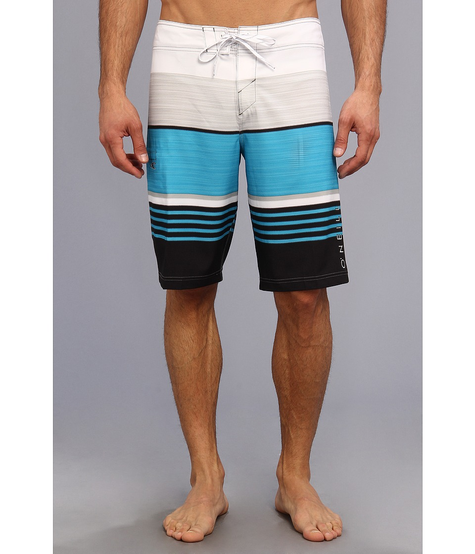 O'Neill - Superfreak Heist Boardshort (Black) Men's Swimwear