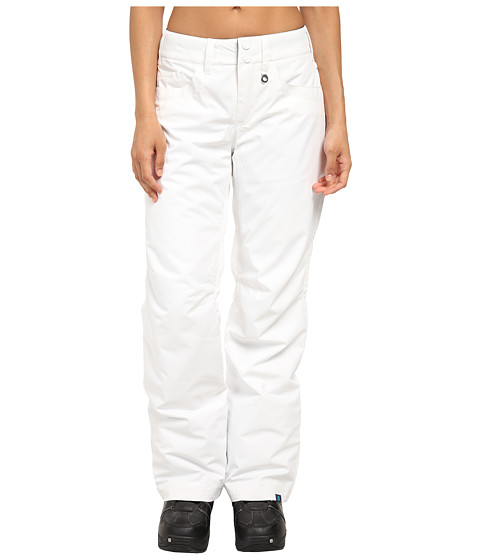 Roxy - Backyard Pant (Bright White) Women's Outerwear