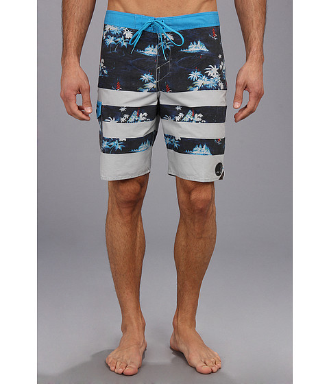 O'Neill - Superfreak Nada Regatta Boardshort (Black) Men's Swimwear