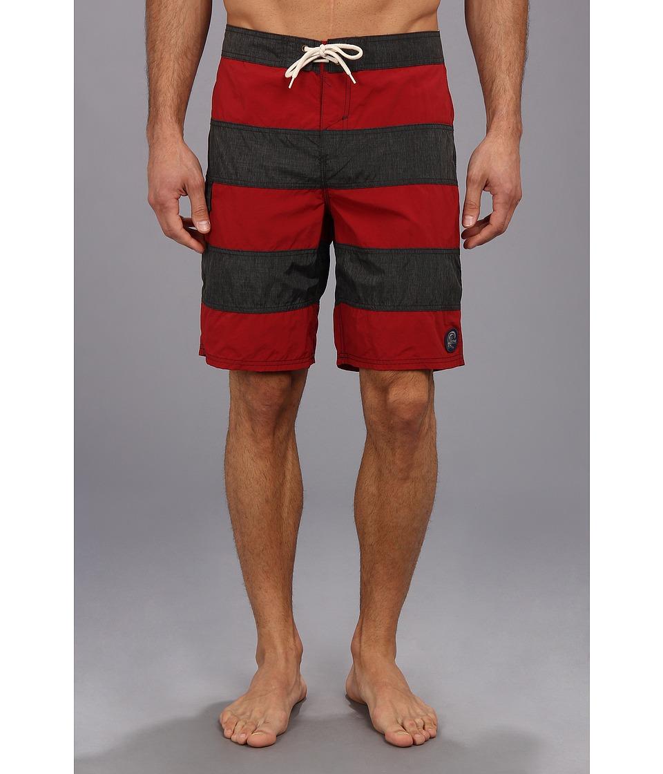 Jack O'Neill - Homage Boardshort (Red) Men's Swimwear