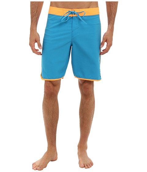 O'Neill - Superfreak Santa Cruz Scallop Boardshort (Blue) Men's Swimwear
