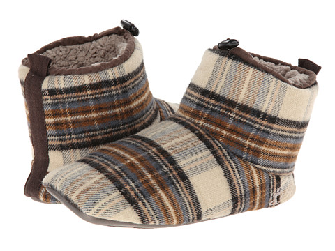 Bedroom Athletics - Lancaster (Beige Check) Men's Slippers