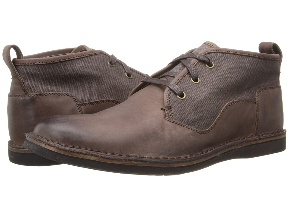 John Varvatos - Star B Chukka (Dark Brown) Men's Shoes